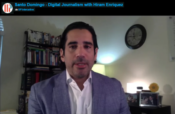 Santo Domingo – Digital Journalism with Hiram Enriquez