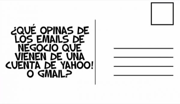 direcciones de email de tu negocio